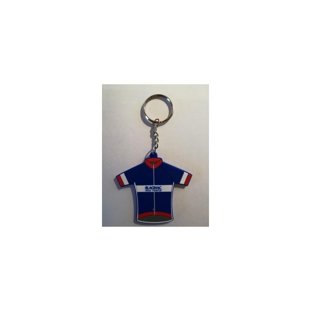 Porte clé Maillot GSC BLAGNAC VELOSPORT 31 120ans