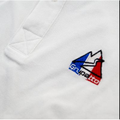 Polo France Blanc