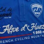 Polo Alpe d'Huez Bleu