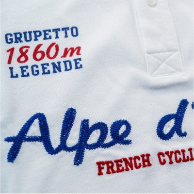 Polo Alpe d'Huez Blanc