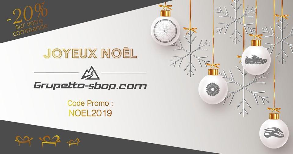 Grupetto-shop.com fête Noël avec -20% sur votre commande